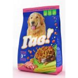 «Гав!» kuivtoit täiskasvanud koertele, lihavalik 3kg.
