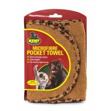Kent Mikrokiust taskutega rätik 20 x 80 cm