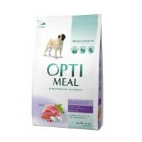 OPTIMEAL™. Täisväärtuslik täissööt täiskasvanud väikest kasvu koertele pardilihaga 4kg.