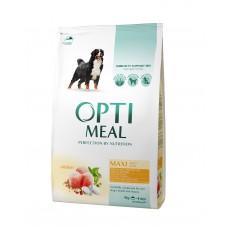 OPTIMEAL™. Täisväärtuslik täissööt täiskasvanud suurt kasvu koertele kanalihaga 4kg.